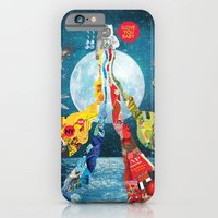 iPhone & iPod Case featuring Luna Marina by Guilherme Lepca