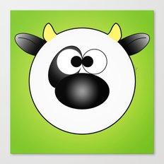 Moo Moo Cow Ball Canvas Print
