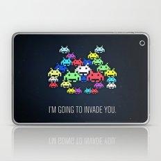 invader boss Laptop & iPad Skin