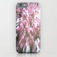 Abstract Pink Flowers 1 iPhone 6 Slim Case