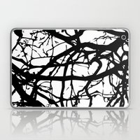 Black Branches Laptop & iPad Skin