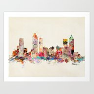 Atlanta Georgia Art Print