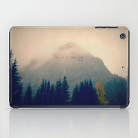 Only God Can Make a Tree iPad Case