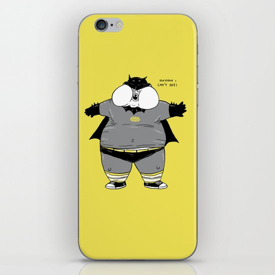 Fat Kid Costume iPhone & iPod Skin