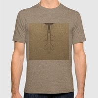 branches#05 Mens Fitted Tee Tri-Coffee SMALL