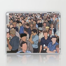 A Face in a Crowd Laptop & iPad Skin
