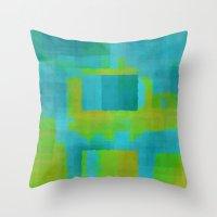 Digital#4 Throw Pillow