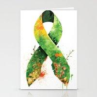 Nature Ribbon Stationery Cards