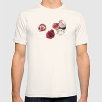 Bed Of Roses Mens Fitted Tee Natural SMALL