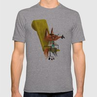 Fox Boss Mens Fitted Tee Athletic Grey SMALL