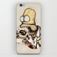 Simpson & C. A. K. E. iPhone & iPod Skin