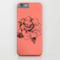 iPhone & iPod Case featuring Rose on Rose by Greg1219