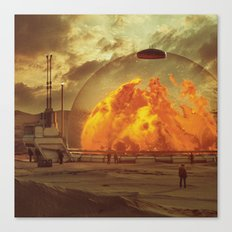 PLASMA.INCINERATOR1.5  (… Canvas Print