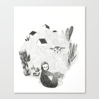 Tales From The Sea Canvas Print