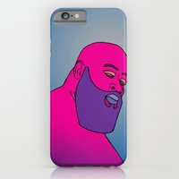 iPhone & iPod Case featuring Psychedelic Bawse by The Drawing Beard