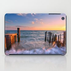Rushing Waves at Sunset iPad Case