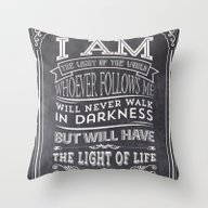 Typographic Motivational… Throw Pillow