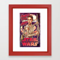 The Force Is Calling To … Framed Art Print