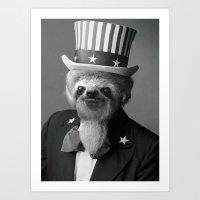 Life As An American Slot… Art Print
