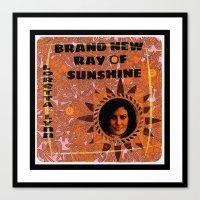 New Ray Of Sunshine Canvas Print