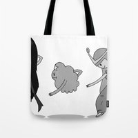 Adventure Time: Marceline, Princess Bubblegum, & LSP: Single Ladies of Ooo Tote Bag