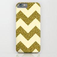 Chevron Gold iPhone 6 Slim Case