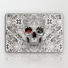 Lace Skull Light Laptop & iPad Skin