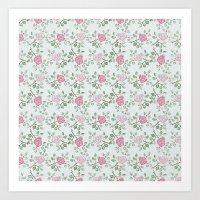 Rose Print Art Print