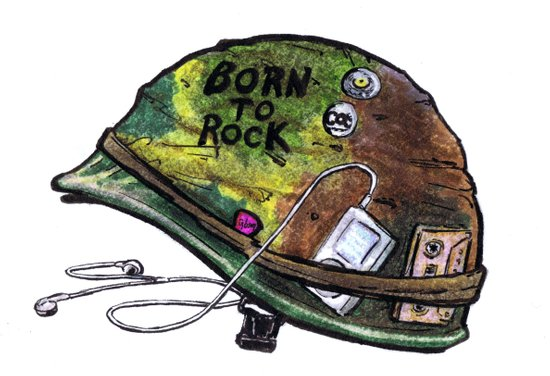 """Born to Rock"" by Cap Blackard Canvas Print"