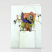 Contents Under Pressure Stationery Cards