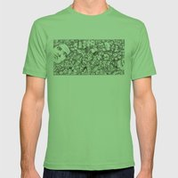 People-B Mens Fitted Tee Grass SMALL