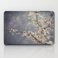 White Blossom iPad Case