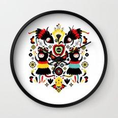 Morning Apple Wall Clock