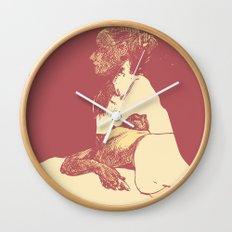 Gaze - 2 Wall Clock
