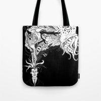 H.P. Monsters Black Tee … Tote Bag
