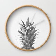 Pineapple Top II Wall Clock