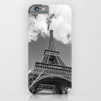 Eiffel Tower - Black and White iPhone 6 Slim Case