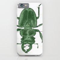 Green Beetle Postcard iPhone 6 Slim Case