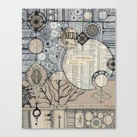 Symphonic Canvas Print