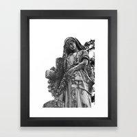 Blessed Virgin Mary Blac… Framed Art Print