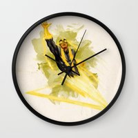 Black Vulcan Wall Clock