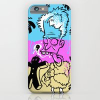 iPhone & iPod Case featuring Quiverin Quentin by BarKeegan