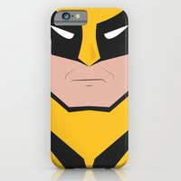 iPhone & iPod Case featuring Wolverine by Shakeel