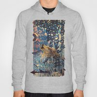 THE WOLF HOWLED AT THE S… Hoody