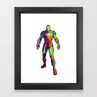Man of Iron Framed Art Print