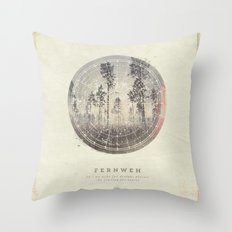 Fernweh Vol 4 Throw Pillow