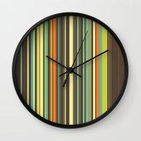 Autumn Grass Wall Clock