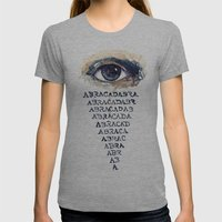 ABRACADABRA Womens Fitted Tee Athletic Grey SMALL