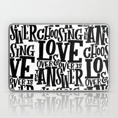 CHOOSE LOVE Laptop & iPad Skin