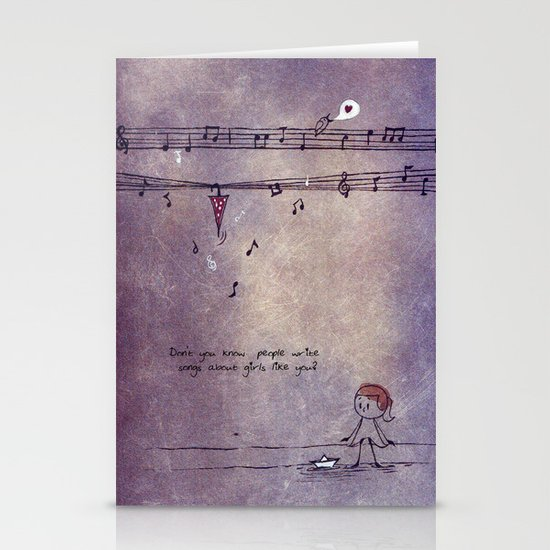 Unposted Letter -2 Stationery Card